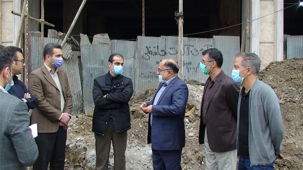 DSC00110 - بازدید شهردار رشت از روند احداث خیابان ۸ دی رشت