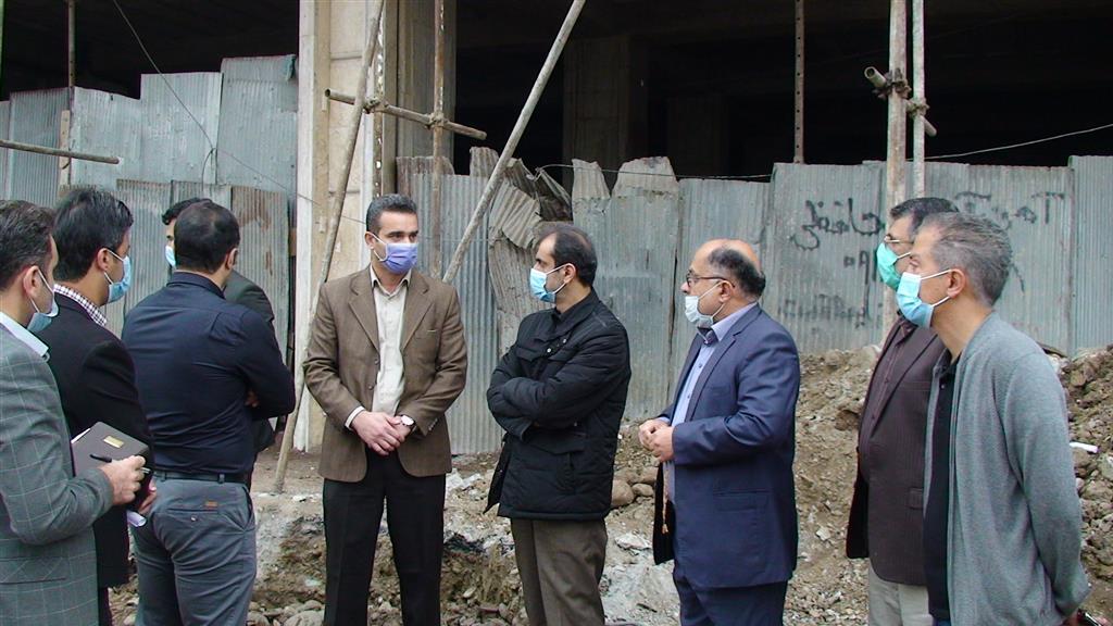 DSC00112 - بازدید شهردار رشت از روند احداث خیابان ۸ دی رشت
