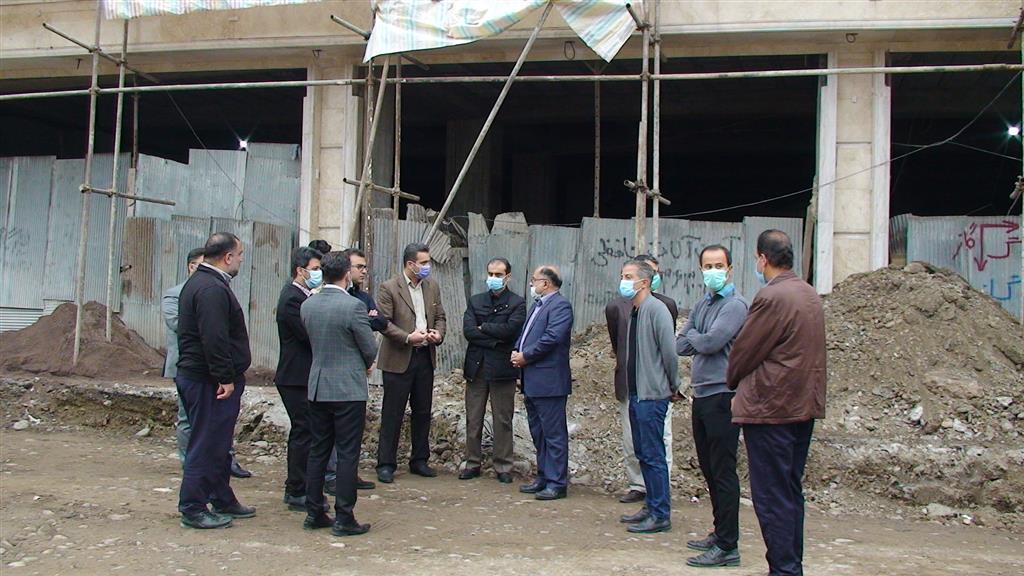 DSC00113 - بازدید شهردار رشت از روند احداث خیابان ۸ دی رشت