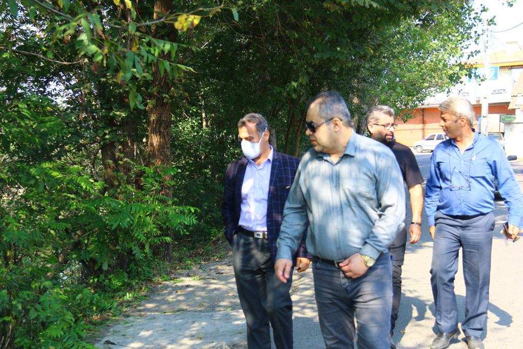 IMG 20201016 WA0112 - گزارش تصویری پاکسازی حاشیه رودخانه های رشت به همت سازمان مدیریت پسماند شهرداری رشت