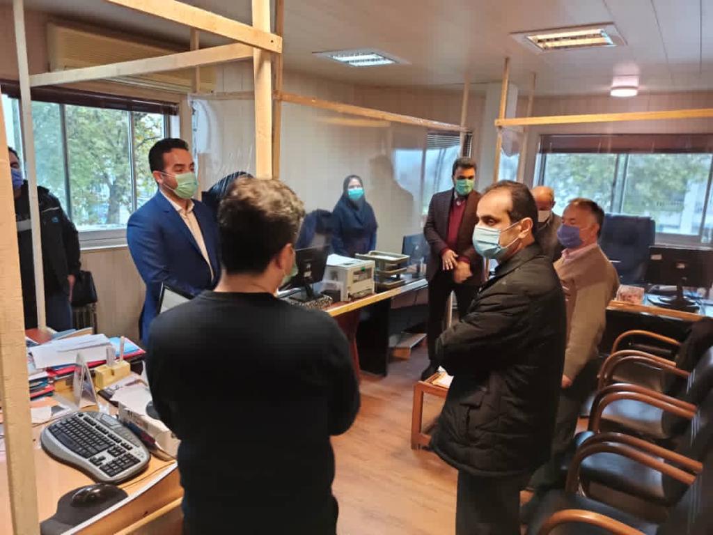 IMG 20201112 WA0076 - بازدید سرزده شهردار رشت از منطقه سه شهرداری رشت