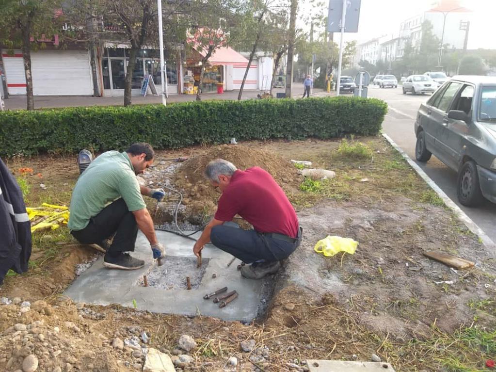 photo 2020 11 06 13 02 12 - گزارش تصویری اقدامات سازمان سیما،منظر و فضای سبز شهری شهرداری رشت
