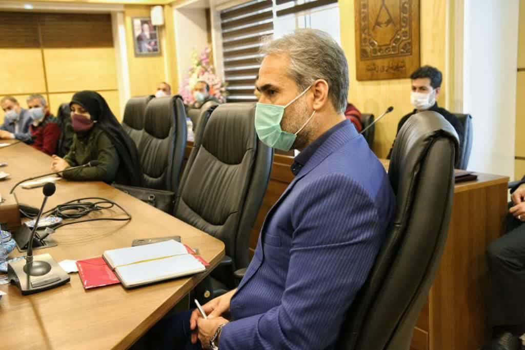 photo 2020 11 22 12 27 43 - شهردار رشت در نشست با مسئولان نواحی : نواحی خط مقدم خدمت رسانی شهرداری هستند