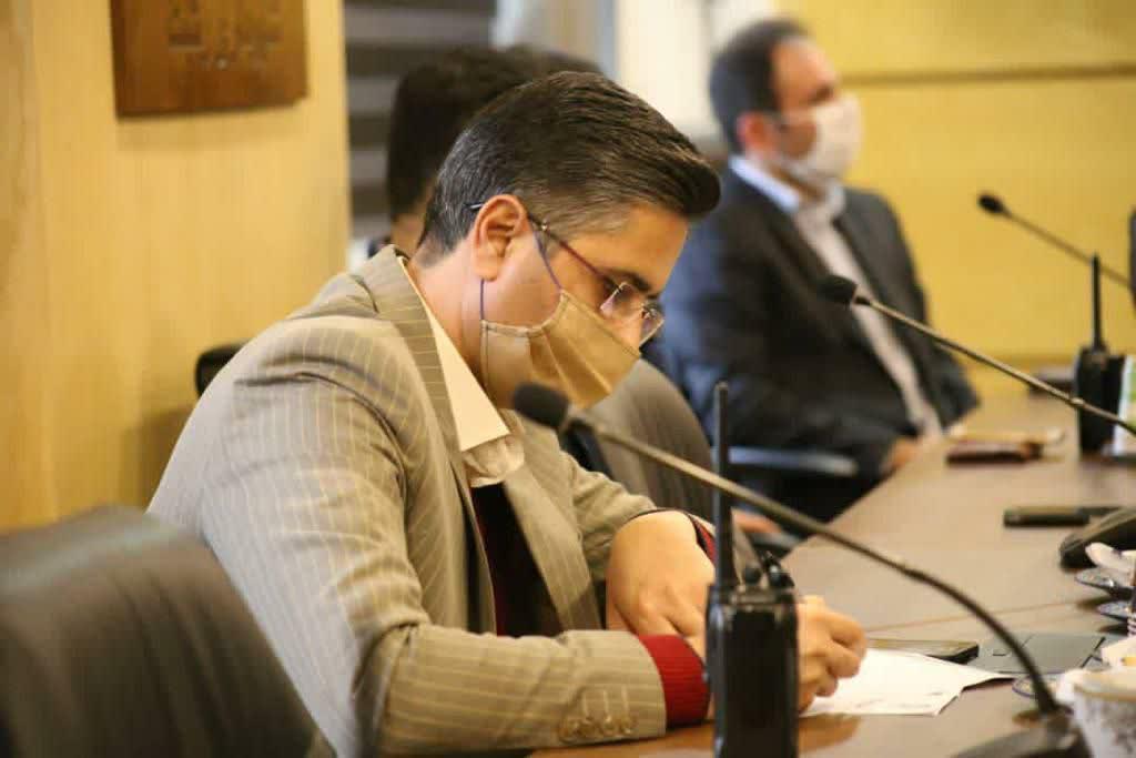 photo 2020 11 22 12 27 57 - شهردار رشت در نشست با مسئولان نواحی : نواحی خط مقدم خدمت رسانی شهرداری هستند