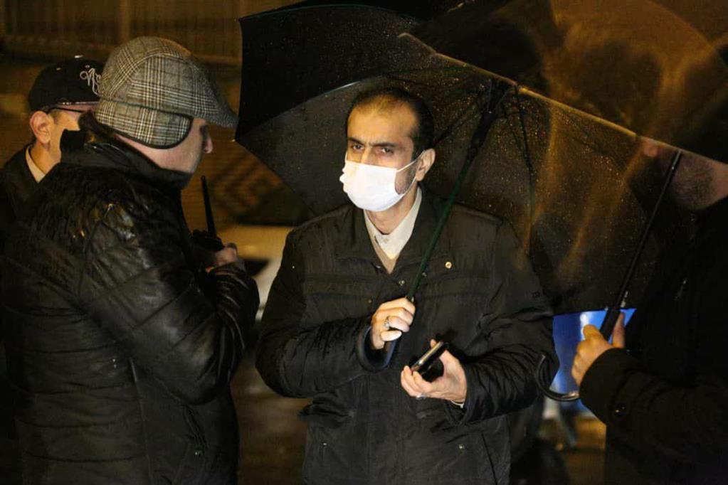 photo 2020 12 06 20 36 25 - در پی ادامه بارش باران، بازدید شبانه شهردار رشت از سطح شهر