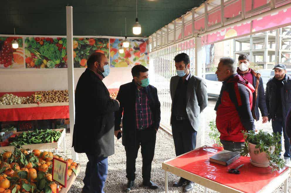 photo 2020 12 10 09 13 41 - افتتاح بازارچه فروش آنلاین میوه و تره بار در بلوار دیلمان رشت