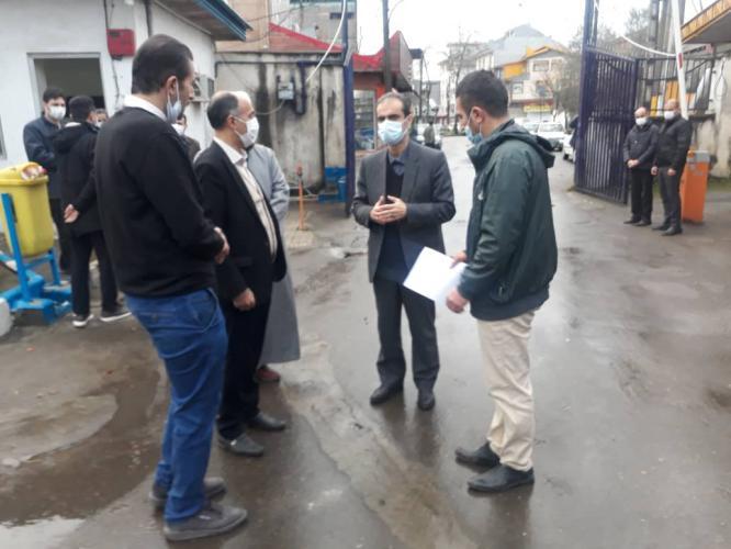 IMG 20201219 WA0003 - بازدیدسرزده شهردار رشت از اداره فنی و اجرایی/ تاکید بر بازآمد نمودن ماشین آلات سازمان برای زمستان