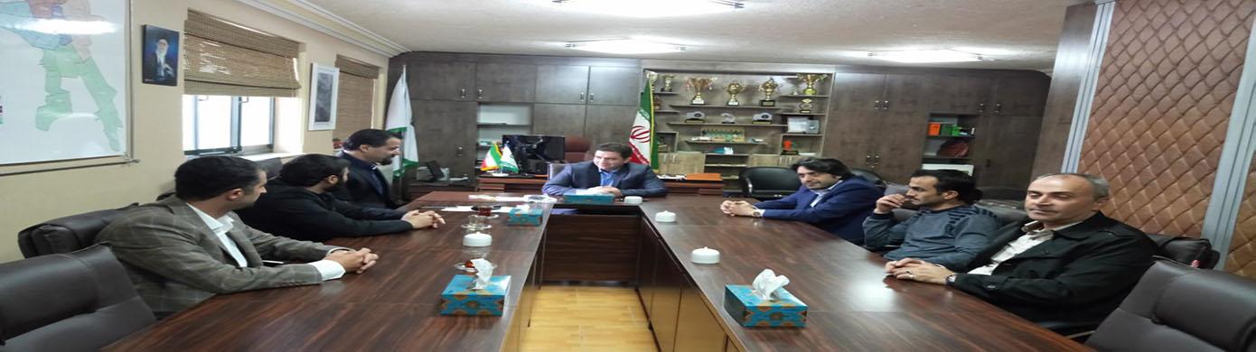 جلسه افتتاحیه حسابرسی داخلی سازمان مدیریت پسماندهای شهرداری رشت