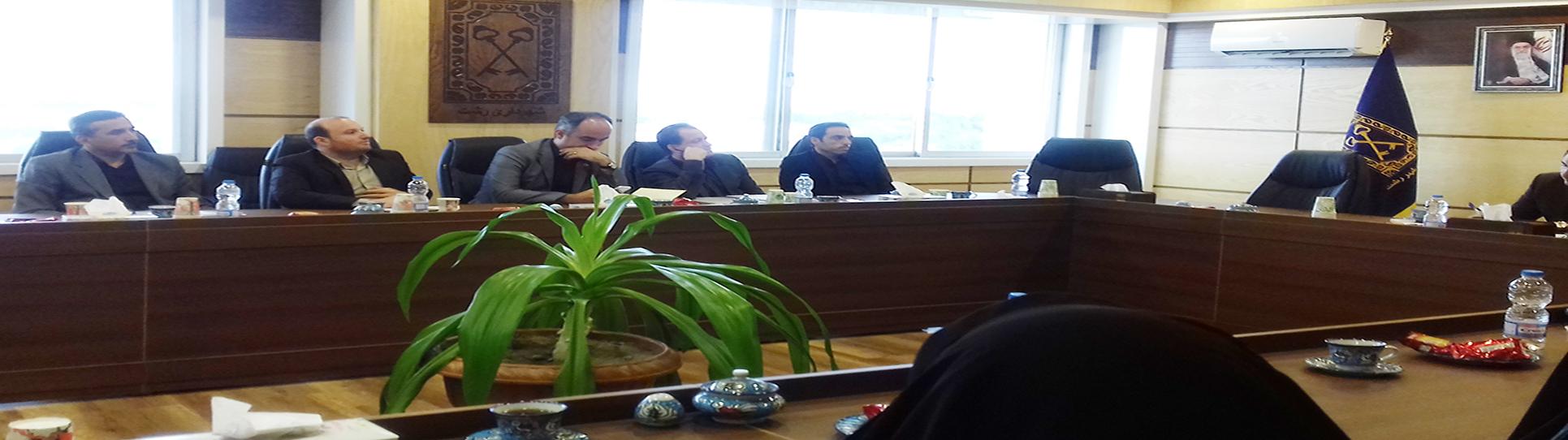 جلسه هم اندیشی رؤسای مالی و اقتصادی سازمان های شهرداری با مدیریت حسابرسی و مشاور شهردار