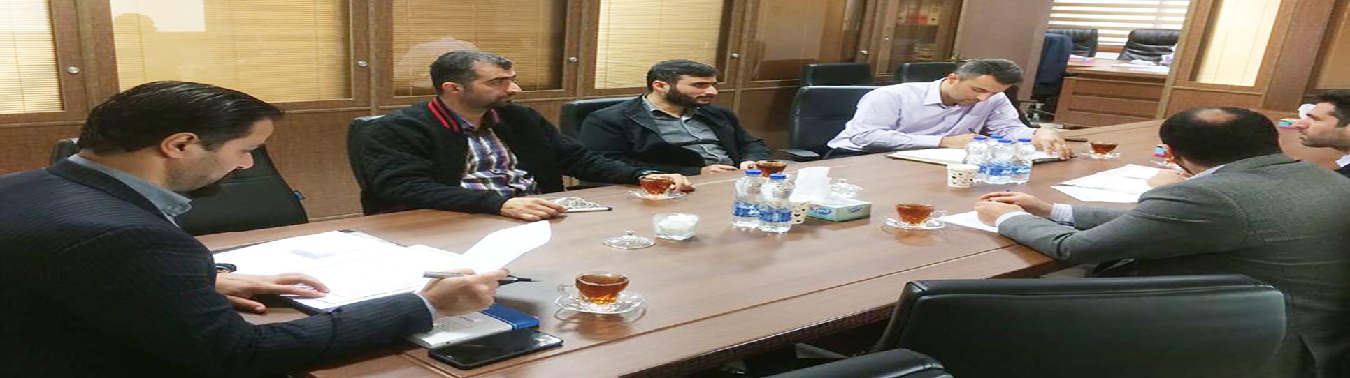 جلسه مشاوره و بررسی فرآیند کنترل داخلی شرکت کود آلی