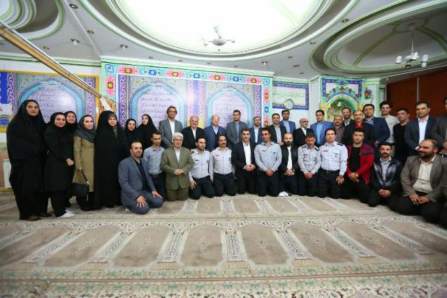 مراسم تجلیل از فرزندان معزز شهید شاغل در شهرداری رشت برگزار شد