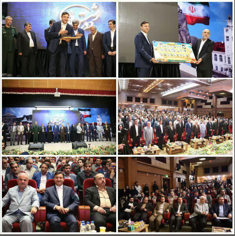 گزارش تصویری مراسم معارفه ناصر حاج محمدی شهردار رشت و تودیع سرپرست شهرداری و شهردار سابق