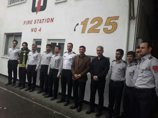 گزارش تصویری بازدید شهردار رشت از ایستگاه شماره 4 آتش نشانی شهرداری رشت