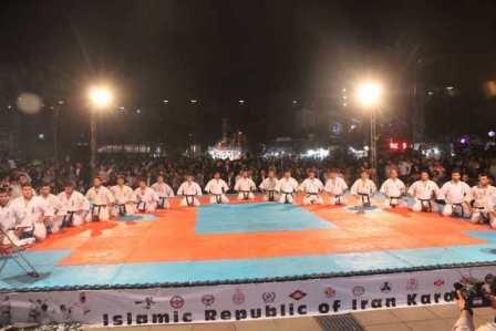 سازمان فرهنگی اجتماعی ورزشی شهرداری رشت :مسابقات جام ستارگان کاراته آزاد