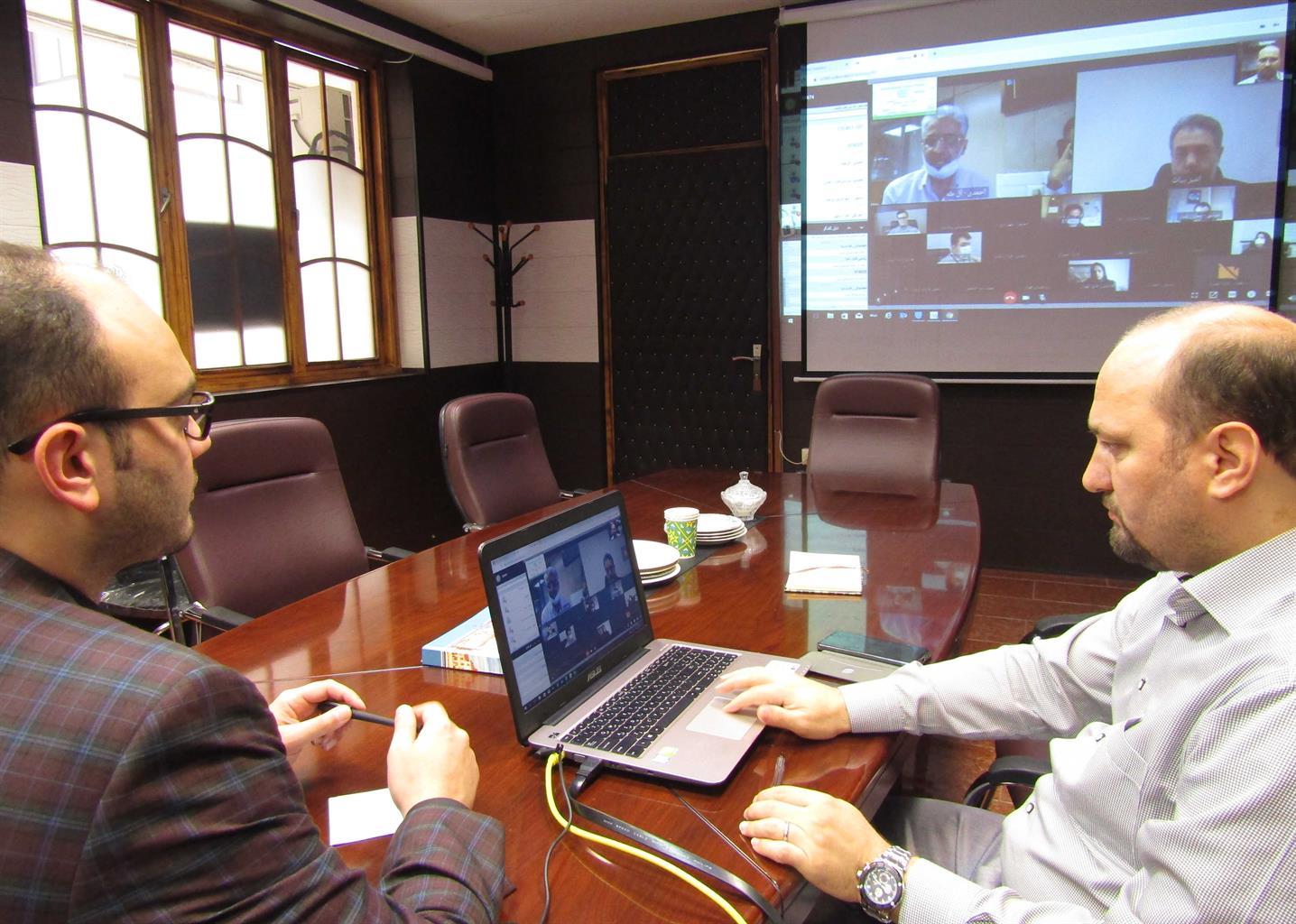 favasession3 - برپایی اولین نشست مجازی کمیسیون فناوری اطلاعات و شهر هوشمند کلانشهرهای کشور