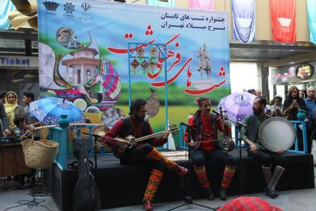 گزارش تصویری برگزاری جشنواره فرهنگی شبهای رشت در برج میلاد کلانشهر تهران