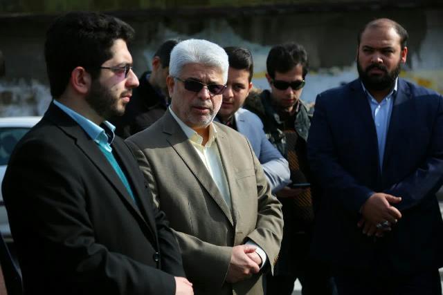 photo 2019 02 22 16 04 19 - رونمایی از یادمان شهید مدافع حرم شهید حسینعلی ابراهیمی