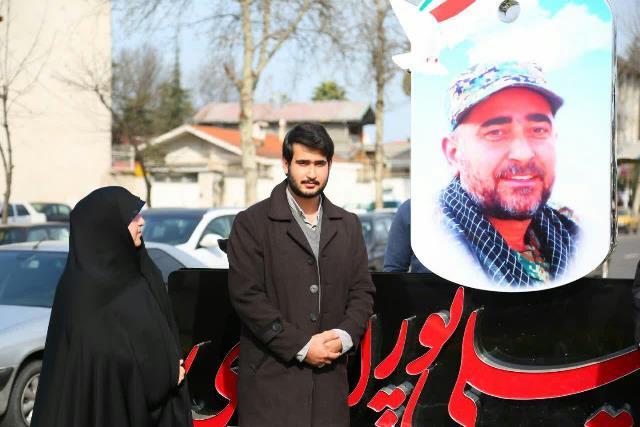 photo 2019 02 22 16 04 22 - رونمایی از یادمان شهید مدافع حرم شهید حسینعلی ابراهیمی