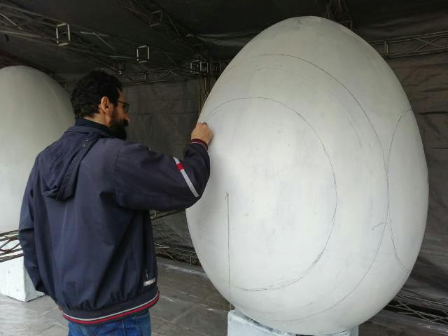 photo 2019 03 16 13 35 36 - آغاز فعالیت کارگاه رنگ آمیزی تخم مرغ های رنگی نوروز در پارک قدس رشت