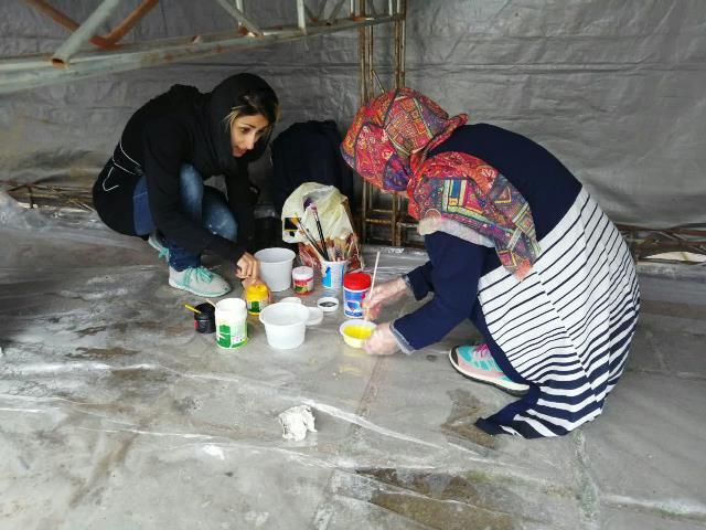 photo 2019 03 16 13 36 18 - آغاز فعالیت کارگاه رنگ آمیزی تخم مرغ های رنگی نوروز در پارک قدس رشت