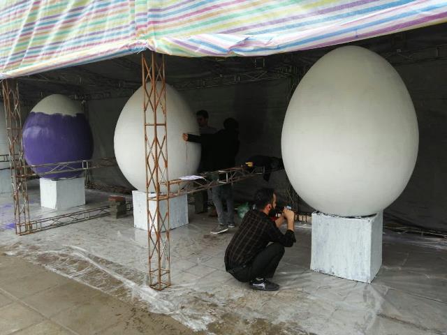 photo 2019 03 16 13 36 30 - آغاز فعالیت کارگاه رنگ آمیزی تخم مرغ های رنگی نوروز در پارک قدس رشت