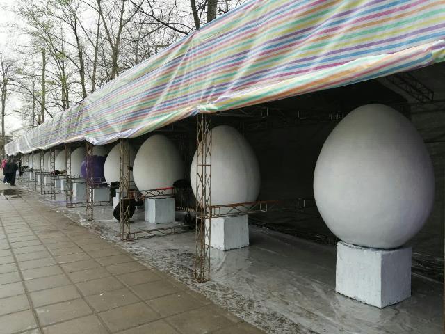 photo 2019 03 16 13 36 32 - آغاز فعالیت کارگاه رنگ آمیزی تخم مرغ های رنگی نوروز در پارک قدس رشت
