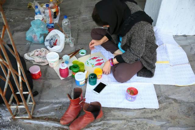 photo 2019 03 17 05 24 53 - آغاز فعالیت کارگاه رنگ آمیزی تخم مرغ های رنگی نوروز در پارک قدس رشت