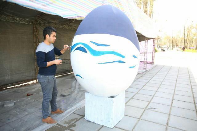 photo 2019 03 17 05 25 01 - آغاز فعالیت کارگاه رنگ آمیزی تخم مرغ های رنگی نوروز در پارک قدس رشت