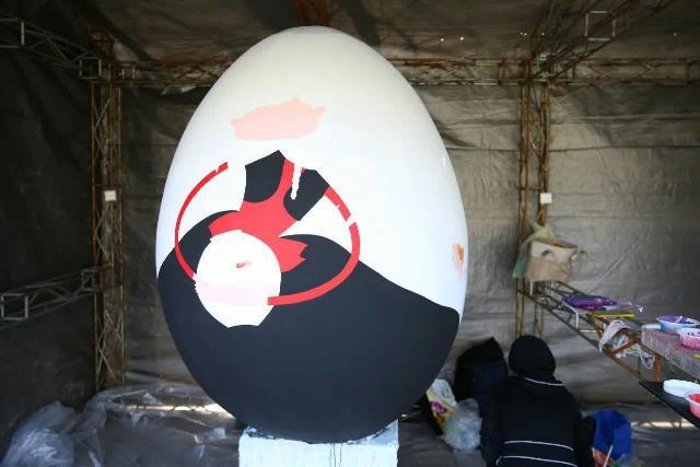 photo 2019 03 17 05 25 11 - آغاز فعالیت کارگاه رنگ آمیزی تخم مرغ های رنگی نوروز در پارک قدس رشت