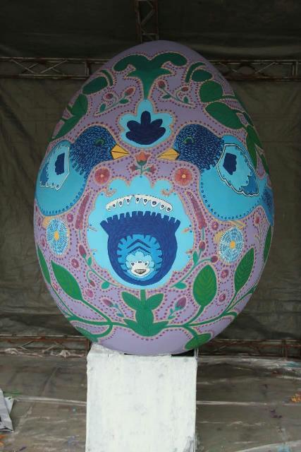 photo 2019 03 19 17 04 49 - برگزاری مراسم اختتامیه کارگاه رنگ آمیزی تخم مرغ های رنگی نوروزی در رشت