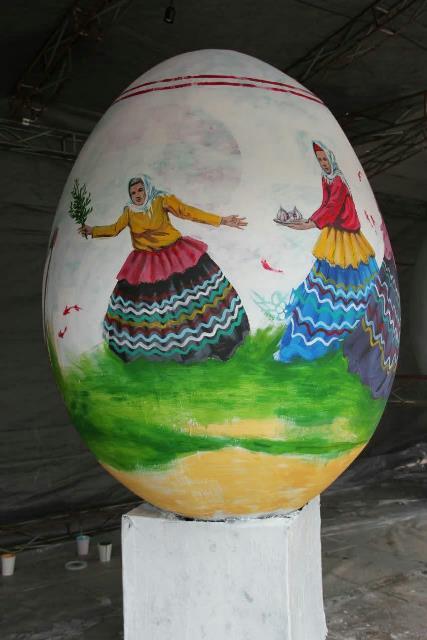 photo 2019 03 19 17 04 57 - برگزاری مراسم اختتامیه کارگاه رنگ آمیزی تخم مرغ های رنگی نوروزی در رشت