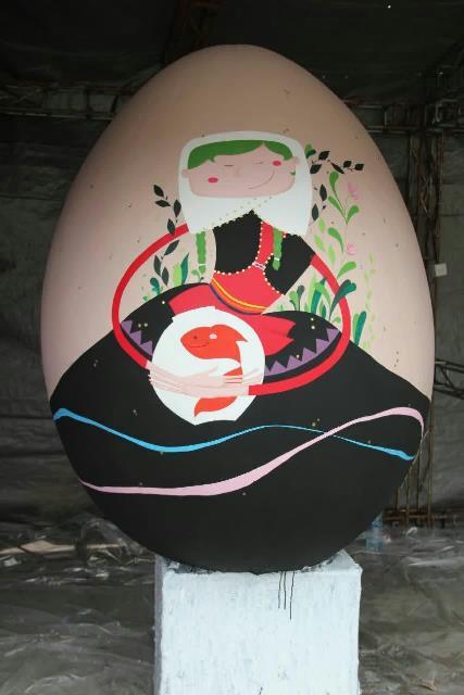 photo 2019 03 19 17 05 04 - برگزاری مراسم اختتامیه کارگاه رنگ آمیزی تخم مرغ های رنگی نوروزی در رشت