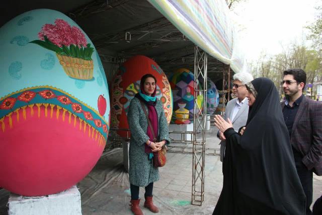 photo 2019 03 19 17 05 11 - برگزاری مراسم اختتامیه کارگاه رنگ آمیزی تخم مرغ های رنگی نوروزی در رشت