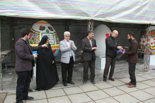 photo 2019 03 19 17 05 20 - برگزاری مراسم اختتامیه کارگاه رنگ آمیزی تخم مرغ های رنگی نوروزی در رشت