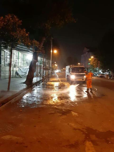 photo 2019 05 14 12 34 17 - شستشوی مکانیزه بافت مرکزی و معابر اصلی شهر رشت