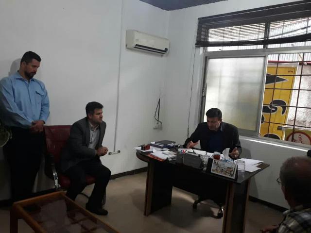 photo 2019 09 02 10 08 00 - گزارش تصویری بازدید شهردار رشت از ناحیه ۲ منطقه ۳ شهرداری