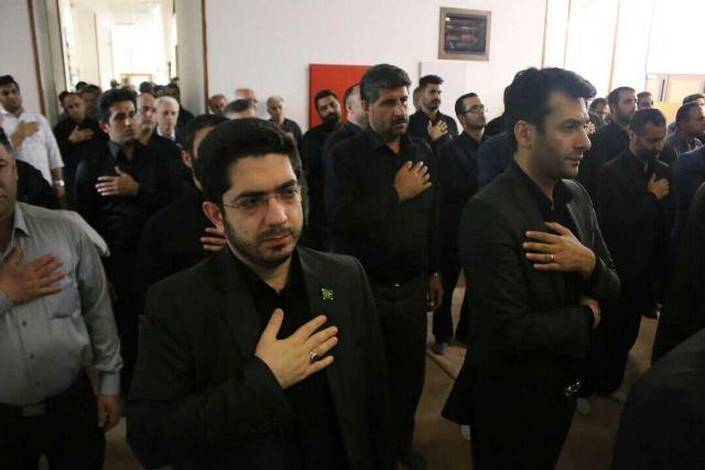 photo 2019 09 07 11 10 13 - گزارش تصویری برپایی مراسم عزاداری دهه اول مُحَرَم اَلحَرام در نمازخانه شهرداری رشت