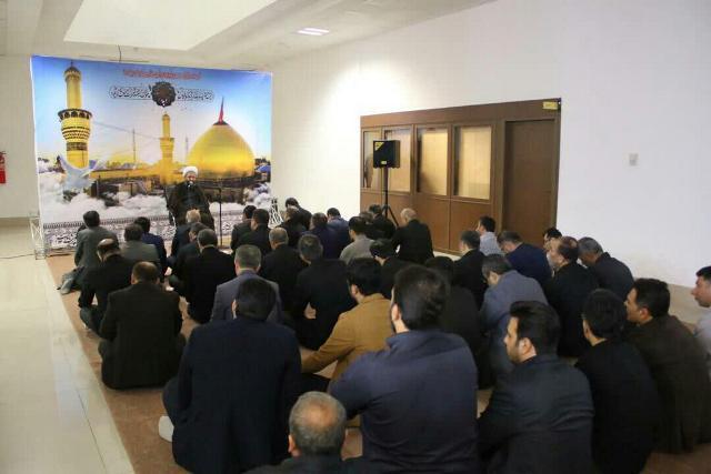 photo 2019 09 07 11 10 31 - گزارش تصویری برپایی مراسم عزاداری دهه اول مُحَرَم اَلحَرام در نمازخانه شهرداری رشت