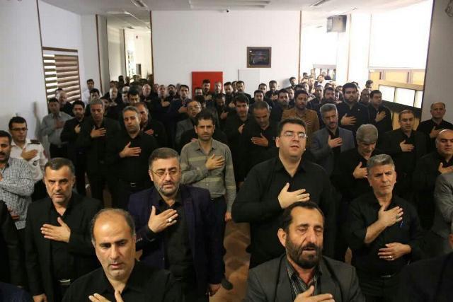 photo 2019 09 07 11 10 47 - گزارش تصویری برپایی مراسم عزاداری دهه اول مُحَرَم اَلحَرام در نمازخانه شهرداری رشت