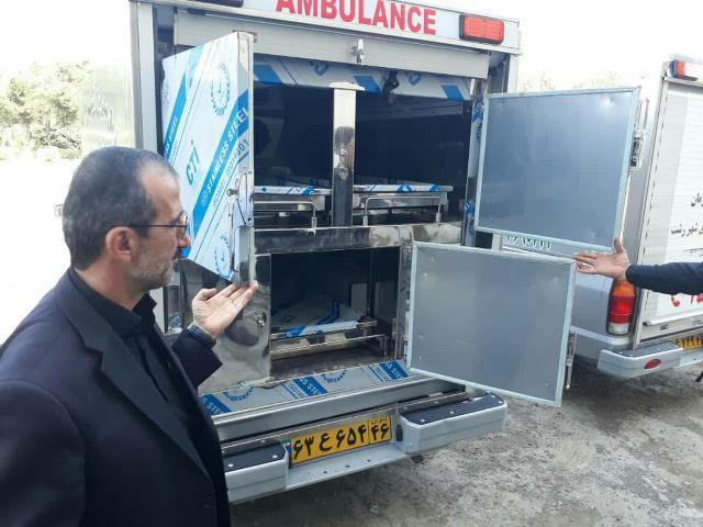 photo 2019 09 15 15 40 54 - برای نخستین بار در گیلان؛ سه دستگاه آمبولانس دارای سردخانه سیار در رشت به کارگیری شد
