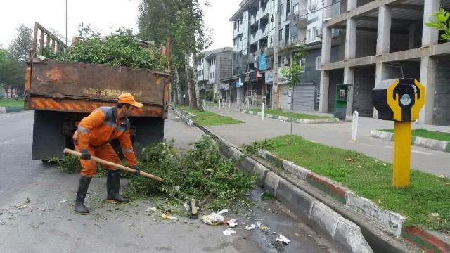 photo 2019 10 05 14 12 44 - گزارش تصویری حوزه مدیریت خدمات شهری از هفته بیست و چهارم طرح پاکسازی هفتگی محلات شهر رشت