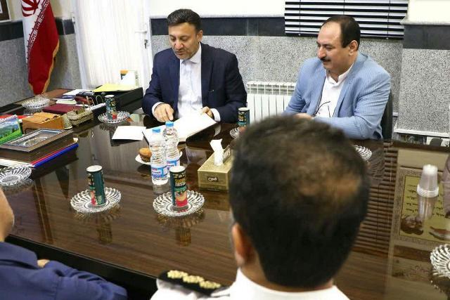 photo 2019 10 10 10 57 54 - گزارش تصویری دیدار شهردار رشت با رئیس پلیس راهور استان گیلان