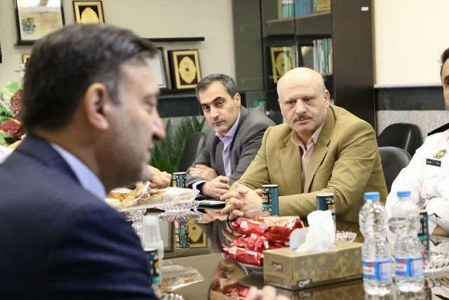 photo 2019 10 10 10 58 00 - گزارش تصویری دیدار شهردار رشت با رئیس پلیس راهور استان گیلان
