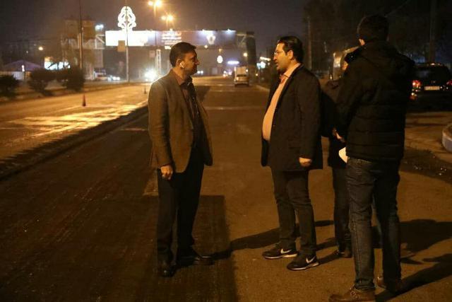 photo 2019 12 02 05 17 24 - بازدید شهردار رشت از عملیات ترمیم آسفالت معابر رشت