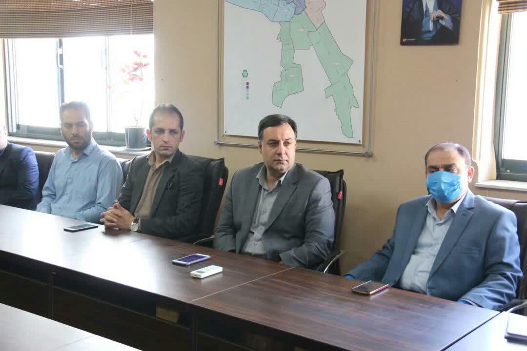 مراسم تودیع و معارفه سرپرست جدید سازمان مدیریت پسماندهای شهرداری رشت