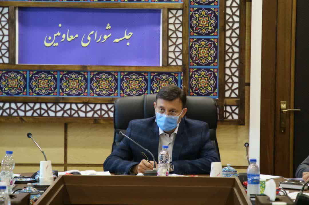 photo_2020-08-10_08-19-09 جلسه شورای معاونین و مدیران شهرداری رشت برگزار شد