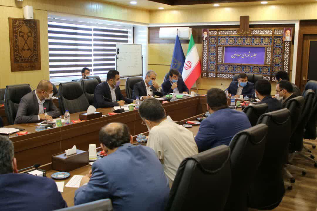 photo_2020-08-10_08-19-12 جلسه شورای معاونین و مدیران شهرداری رشت برگزار شد