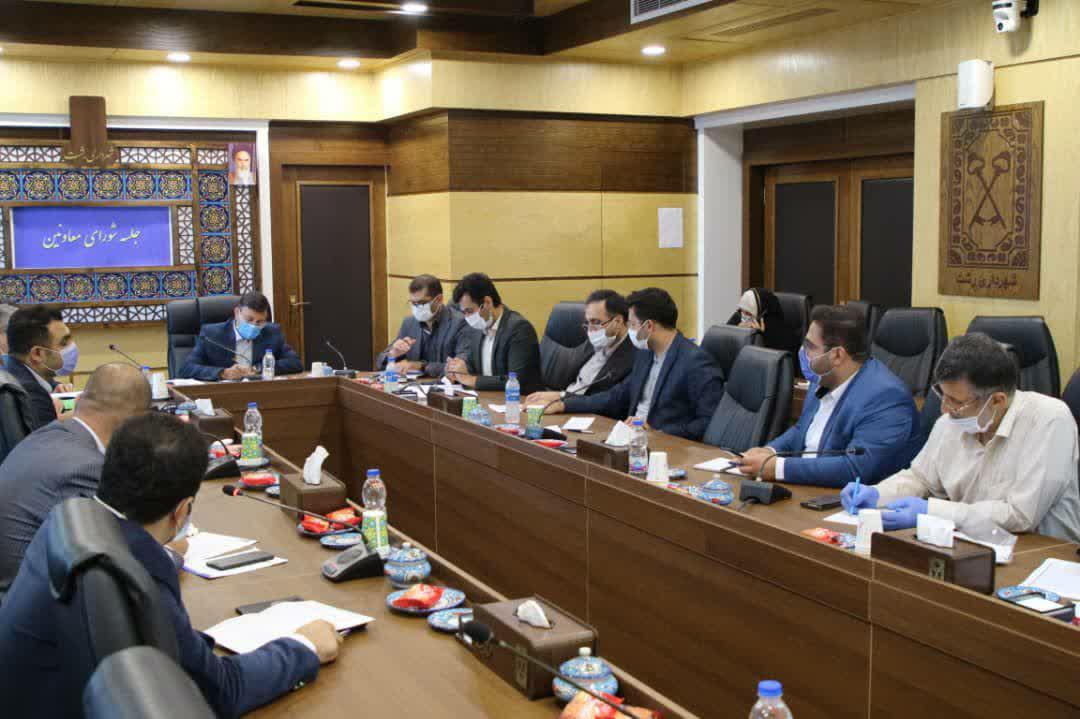 photo_2020-08-10_08-19-31 جلسه شورای معاونین و مدیران شهرداری رشت برگزار شد