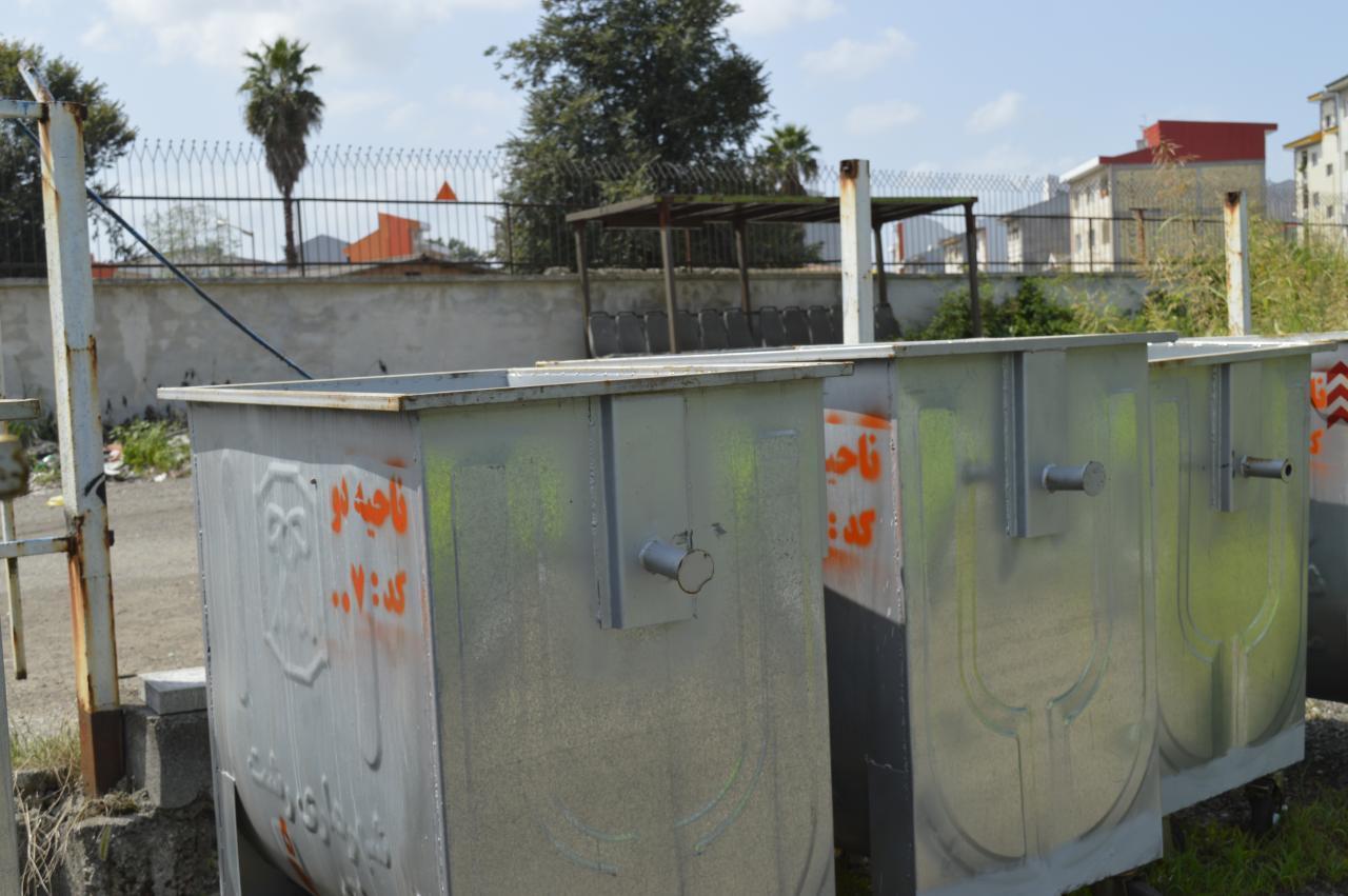 photo 2020 09 09 22 50 45 - رئیس سازمان مدیریت پسماندهای شهرداری رشت خبر داد:جانمایی ۲۰۰ مخزن جدید زباله در سطح شهر