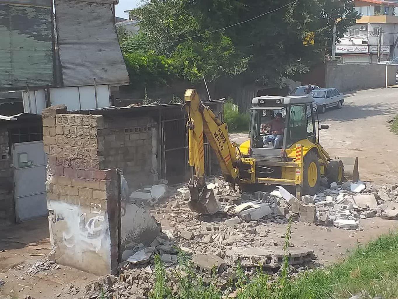 photo 2020 09 17 09 55 05 - پروژه تعریض و آزادسازی خیابان سرچشمه در دستور کار شهرداری رشت